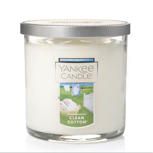 Yankee Candle Clean Cotton 7 oz Tumbler Candle